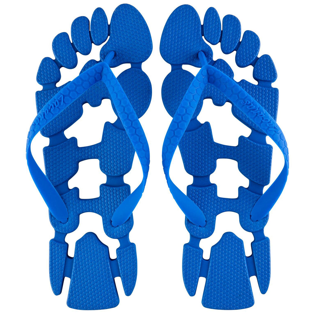 Blue Blood: The non-slip flip-flops (thongs) for the beach