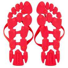 Red Flag: The non-slip flip-flops (thongs) for the beach