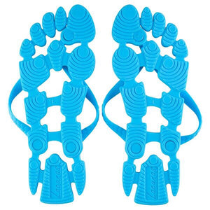 True Blue: The non-slip flip-flops (thongs) for the beach