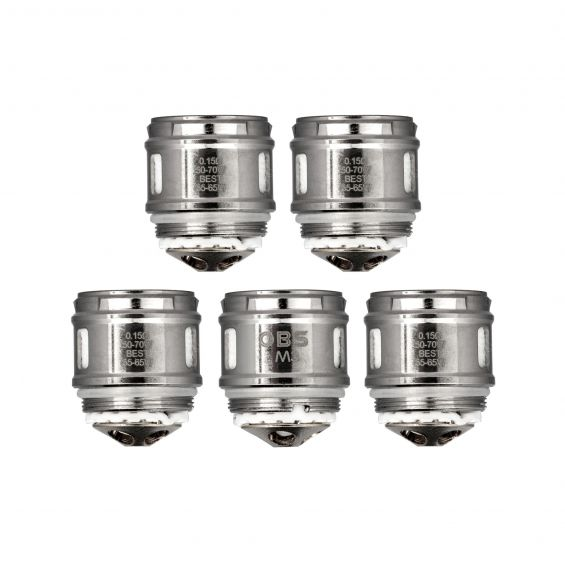 OBS Cube M3 0.15ohm coils pack of 5, , Wick Addiction, Wick Addiction,  - Wick Addiction