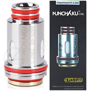 Nunchaku 0.25ohm coils pack of 4, , Wick Addiction, Wick Addiction,  - Wick Addiction