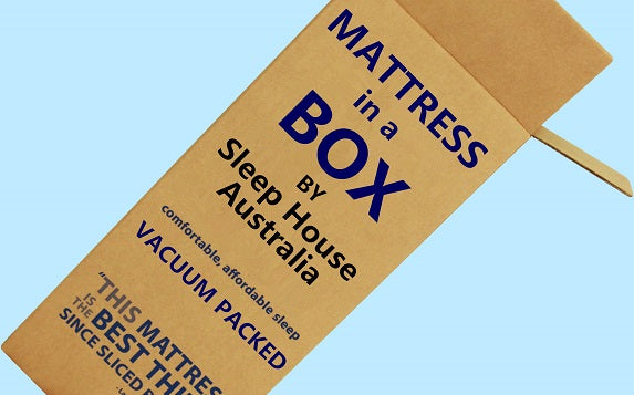 Mattress in a box king single size