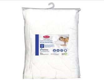 Easy Rest Quilted Percale Pillow Protector-2 Pack - iComfort