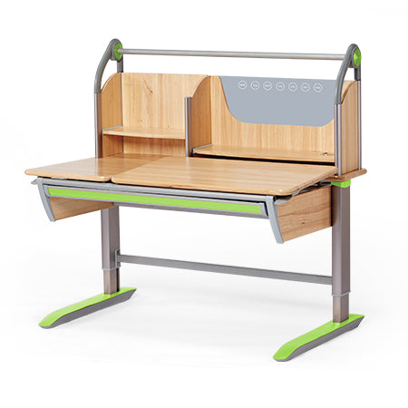 iStudy Ergonomic Adjustable Children Desk Z01 (Desk and Shelf)