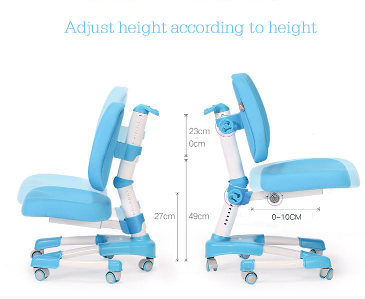 iStudy kids ergonomic height adjustable chair C08 only at Comfort for All Sydney NSW