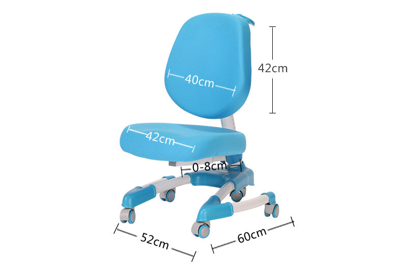iStudy kids ergonomic height adjustable chair C08 only at Comfort for All Melbourne Australia