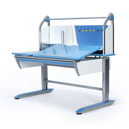 Kids Children Height Adjustable Desk Z01 Blue Colour