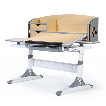 iStudy Children Ergonomic Height Adjustable Desk E120 in Grey Colour at Comfort for All Adelaide SA