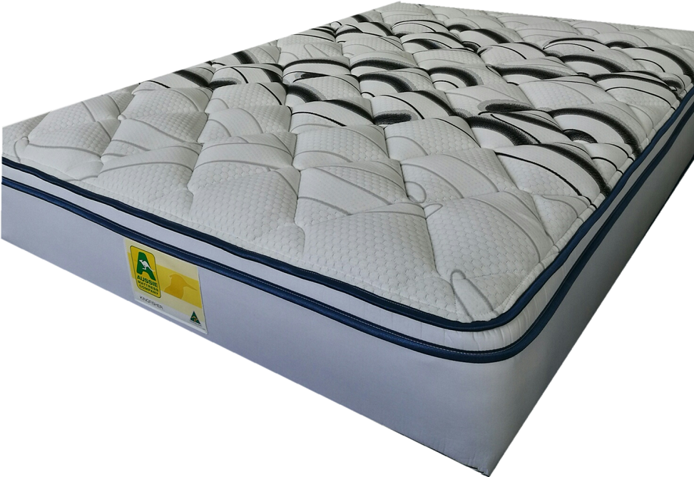 Sleepmaker Kingfisher Pocket Spring Pillow Top Medium Feel Mattress Available At Comfort for All Mitcham