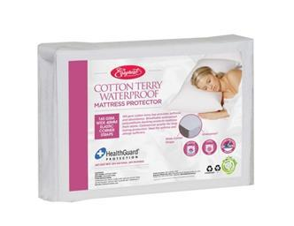 Easy Rest Cotton Terry Waterproof Mattress Protector-Strrapped - Comfort for All