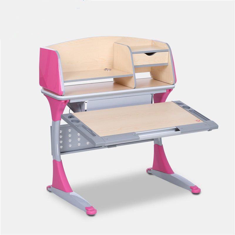 iStudy Ergonomic Adjustable Children Desk With Tiltable Desktop