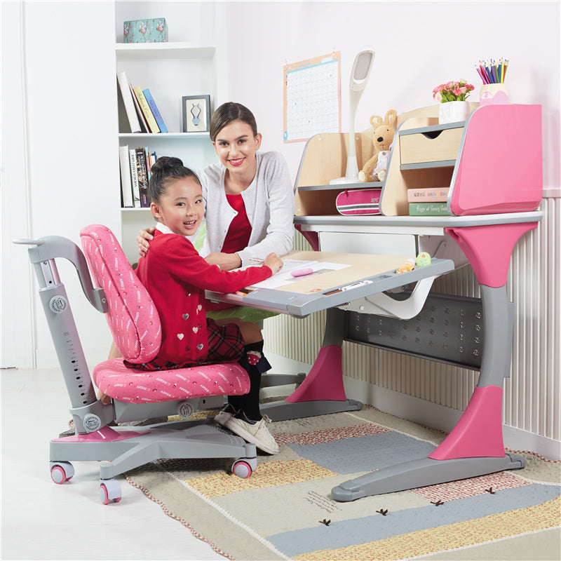 iStudy Ergonomic Height Adjustable Kids Desk S100B Only At Comfort for All Melbourne