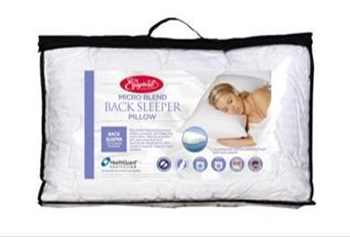 Easy Rest Micro Blend Back Sleeper Pillow - Comfort for All Mitcham