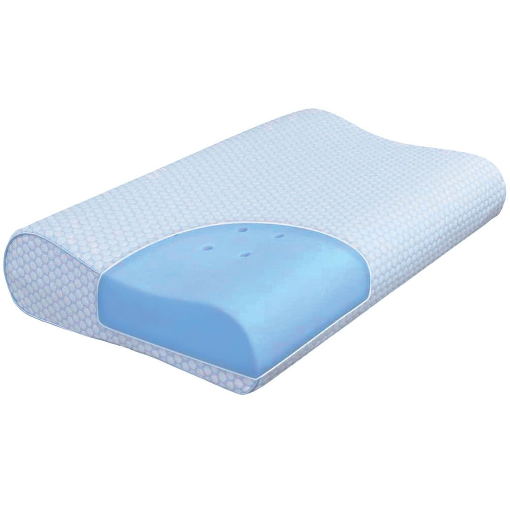 Mlily SENSIPOLAR GEL FUSION CONTOUR PILLOW BEST PRICE AT COMFORT FOR ALL