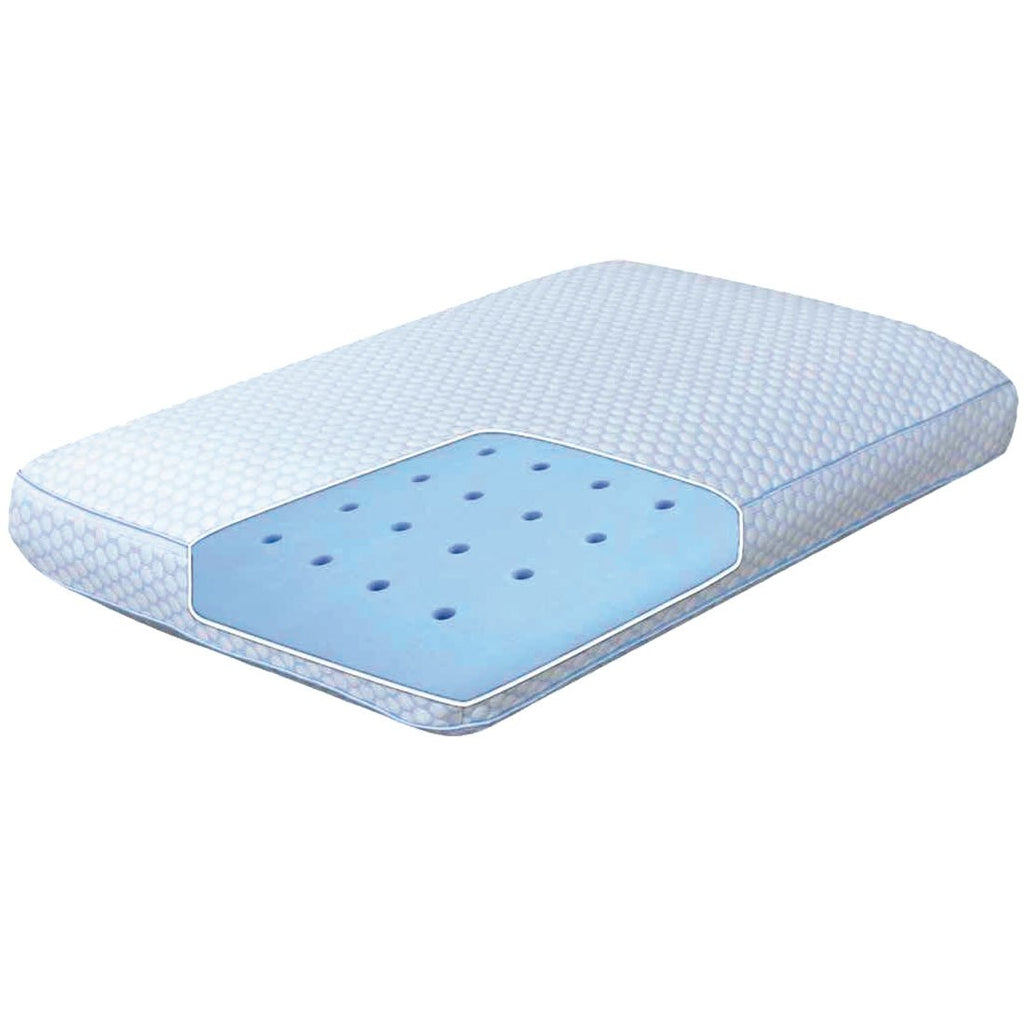MLILY SENSIPOLAR GEL FUSION TRADITIONAL PILLOW BEST PRICE AT COMFORT FOR ALL