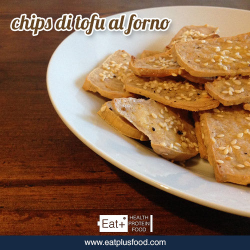 Eat+ Chips di tofu al forno