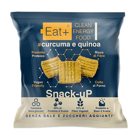 Snack-uP - Curcuma e Quinoa 40g