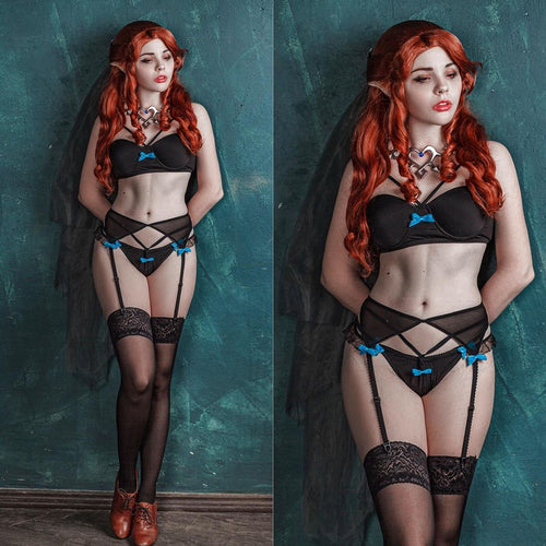 Castlevania Lenore Cosplay Lingerie - Custom Made