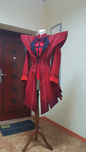 Hazbin Hotel Alastor Radio Demon Cosplay Costume Custom Made