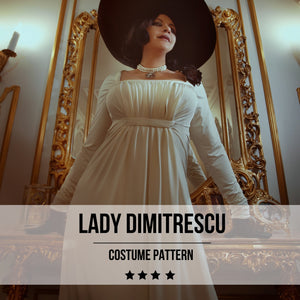 Lady Dimitrescu Resident Evil Pattern - Digital Product