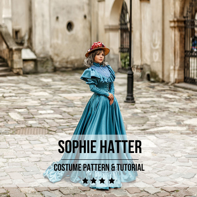 Sophie Hatter Dress Pattern and Tutorial - Digital Product