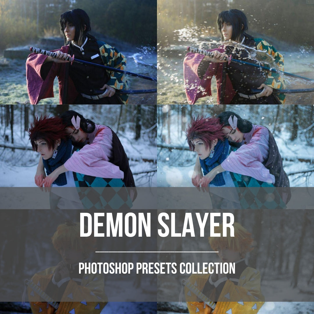 Presets Collection - Demon Slayer (Digital Product)