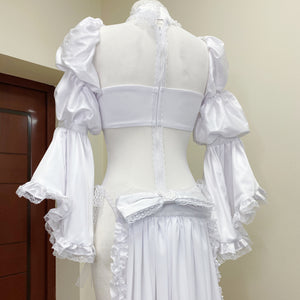 Nier Automata 2b Bride Cosplay Costume Custom Made
