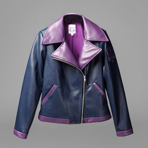 Overwatch Sombra Inspired Leather Jacket