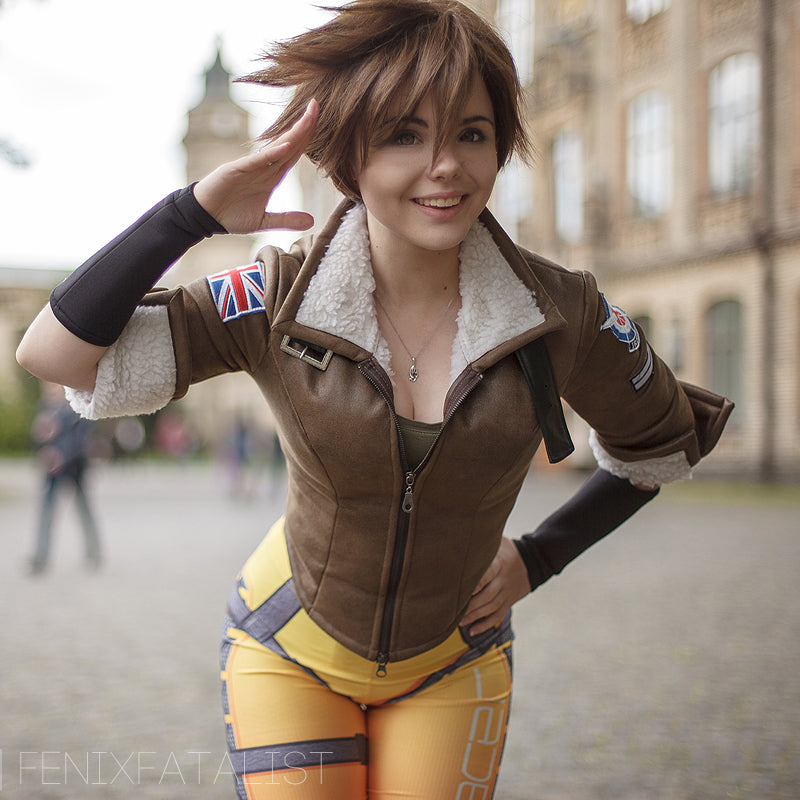Overwatch Tracer Cosplay Jacket In Stock