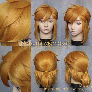 Legend of Zelda Breath of the Wild Cosplay Wig Custom Made