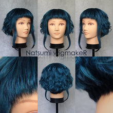 Ramona Flowers Cosplay Wig Custom Made