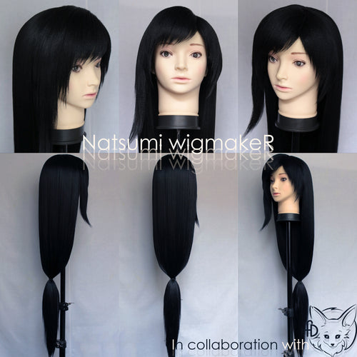 Tifa Lockhart Final Fantasy VII Cosplay Wig Custom Made