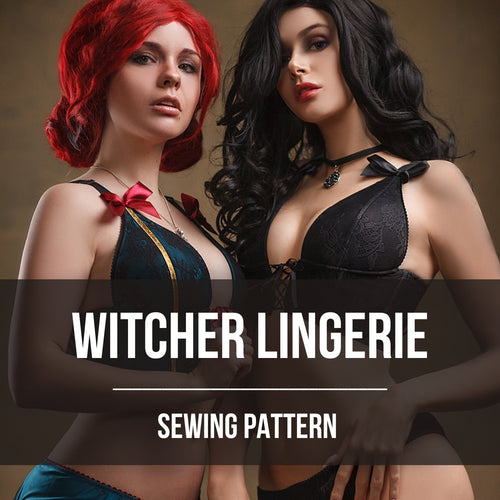 Witcher Lingerie Patterns (Digital Product)