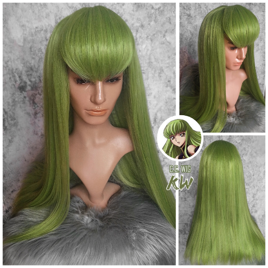 Code Geass CC Cosplay Wig - Custom Made