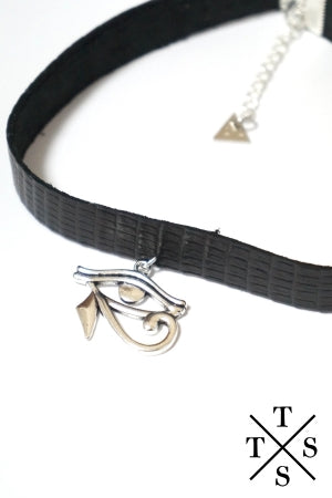 XTS Eye of Horus Choker - YOU ARE MY POISON
