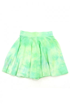XTS Cotton Tie Dye Skirt (Green) - YOU ARE MY POISON