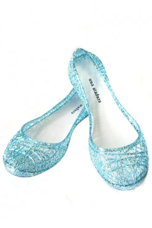 Glitter Jelly PVC Shoes (Green) - YOU ARE MY POISON
