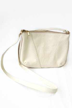 XTS White Shoulder Leather Bag(GOLD) - YOU ARE MY POISON
