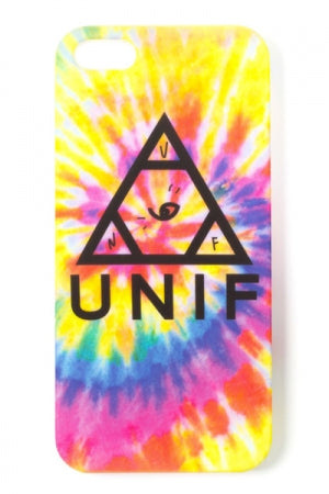 UNIF TIE DYE LOGO CASE (iPhone5/5S) - YOU ARE MY POISON