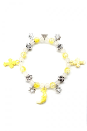 XTS Magical Stars Yellow Bracelet - YOU ARE MY POISON