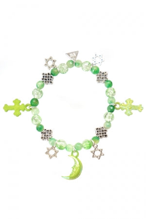 XTS Magical Stars Green Bracelet - YOU ARE MY POISON