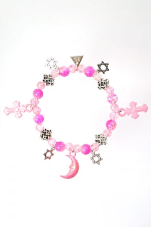 XTS Magical Stars Pink Bracelet - YOU ARE MY POISON