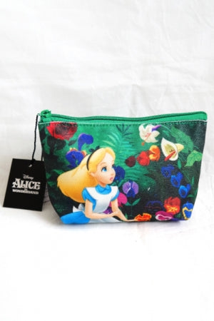 Alice in Wonderland Print Mini Pouch