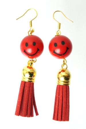 XTS Smile Tassel Red Pierce - YOU ARE MY POISON