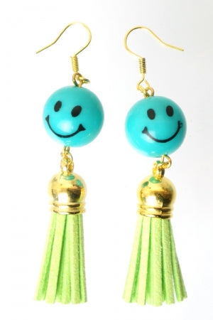 XTS Smile Tassel Green Pierce - YOU ARE MY POISON