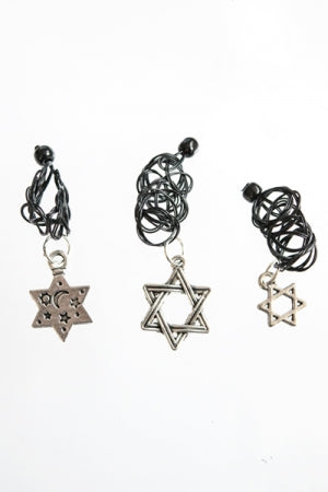 XTS Hexagram 3set Tattoo Ring - YOU ARE MY POISON