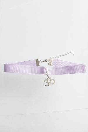 XTS Ohm Lavender Choker - YOU ARE MY POISON