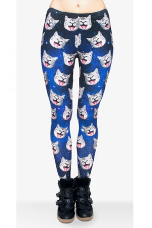 All-Over Print Leggings (Smile cat)