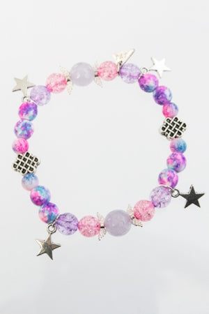 XTS Star Wing Pink Bracelet - YOU ARE MY POISON