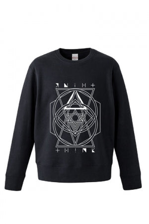 TuRu THINK SWEATSHIRT (Black) - YOU ARE MY POISON
